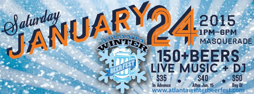 [winter beer fest 2015] flyer