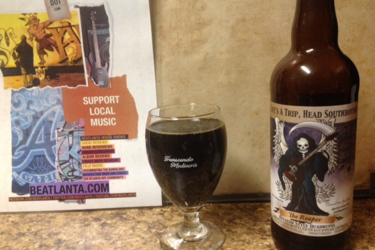 #beerAtlanta :: BEER REVIEW: The Reaper – Belgian Style Quadrupel (Southbound Brewing Co. / Savannah, GA)