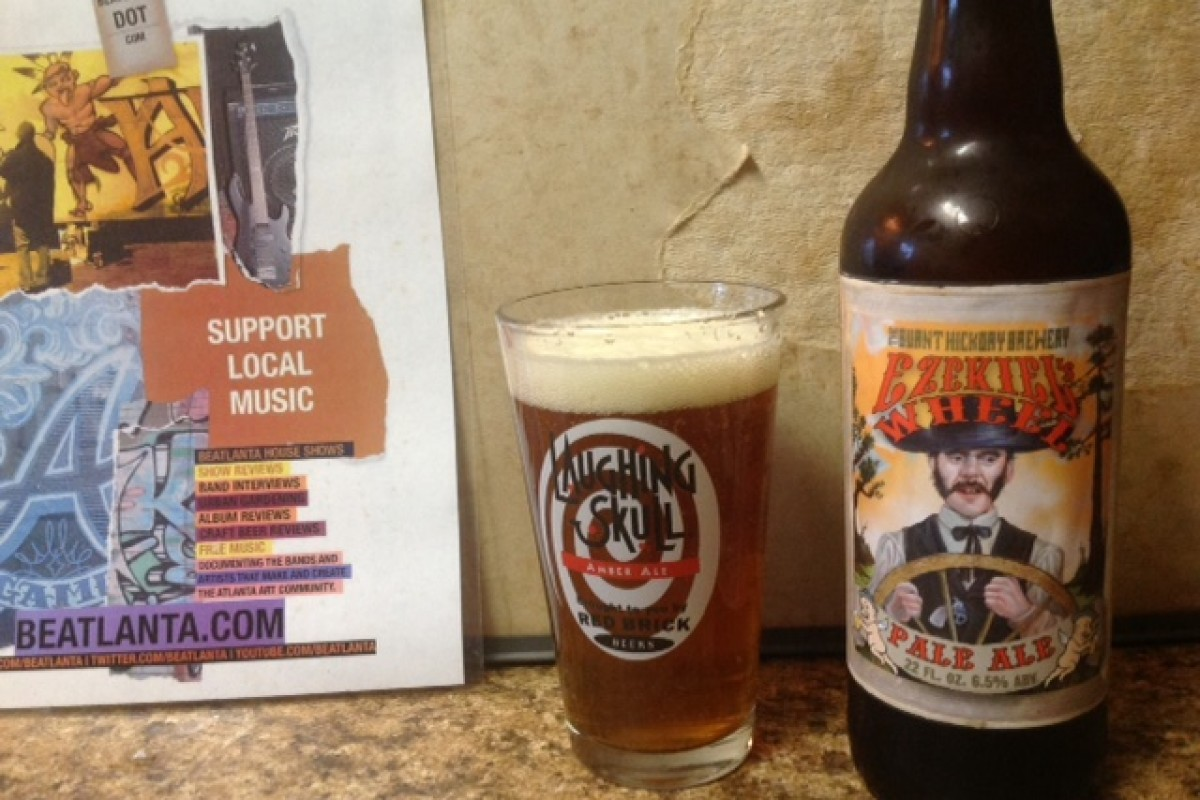 #beerAtlanta :: BEER REVIEW :: Burnt Hickory Brewery – Ezekiel's Wheel Pale Ale (Kennesaw, GA)