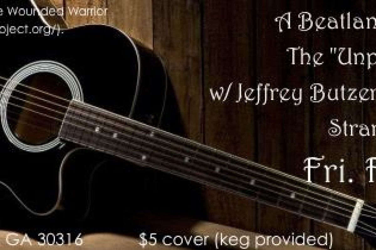 A BEATLANTA HOUSE SHOW: The 'Unplugged' Series: W/ Jeffrey Butzer & the Bicycle Eaters + Strange Planet + Jeremy Ray (Fri 2/20/15)