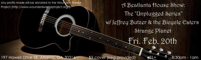 [flyer] house show 2.20.15_strange planet_jeffrey butzer unplugged