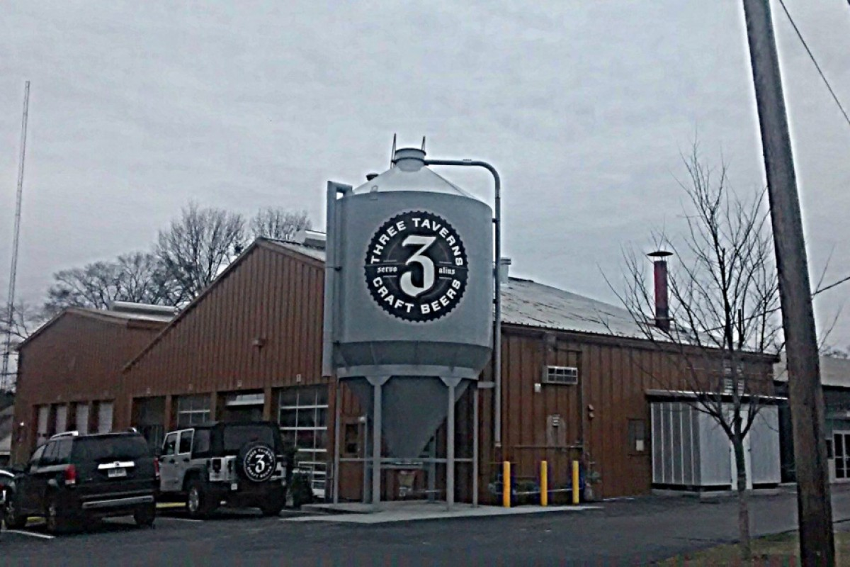 #beerAtlanta :: Brewery Tour: Three Taverns Brewery (Decatur, GA)