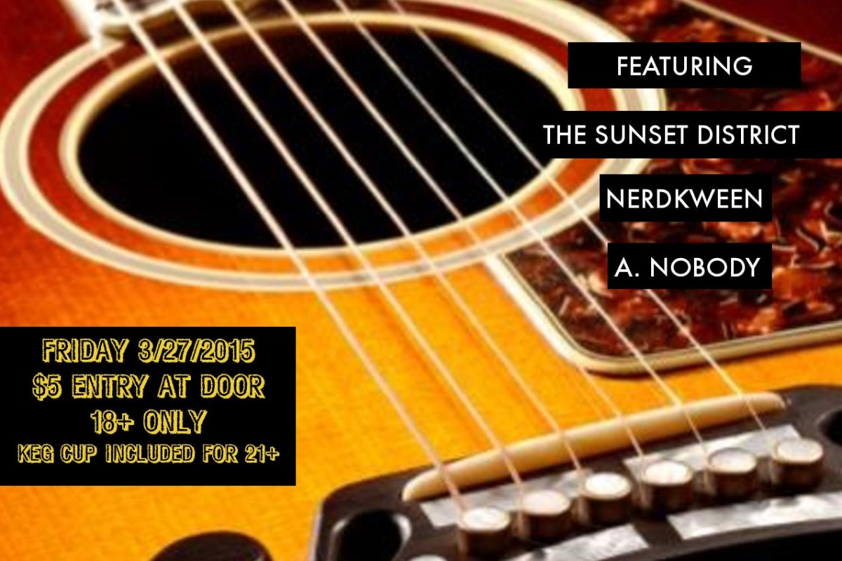 LIVE VIDEO :: A. Nobody at the Beatlanta House on Fri 3/27/15 for a beatlanta acoustic charity house show…