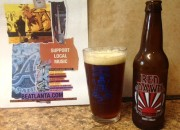 Red Dawn Amber Wheat Ale - Carsons Brewery