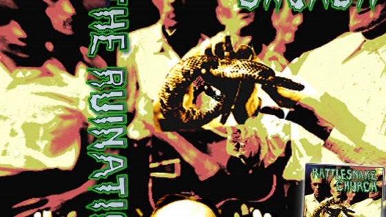"""The Ruination """"Rattlesnake Church"""" cover"""