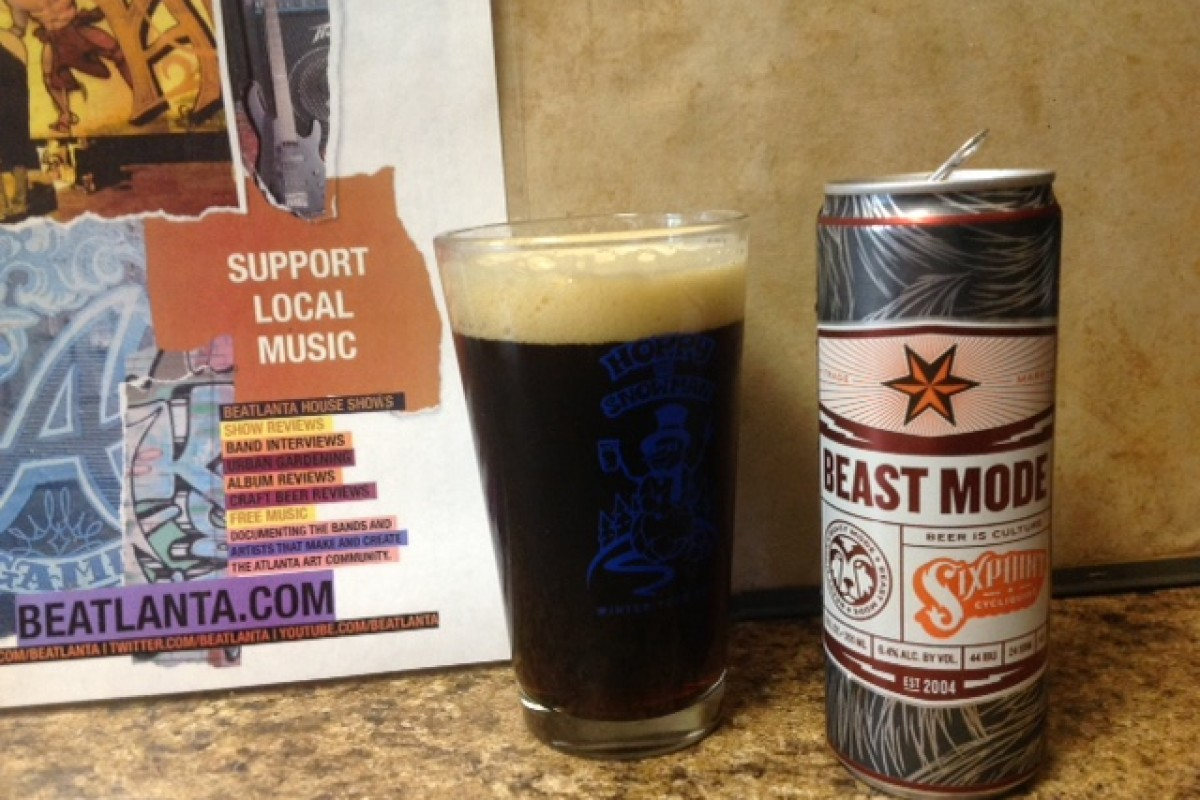 BEER REVIEW :: #beerAtlanta :: Beast Mode from Six Point Brewery (Brooklyn, NY)