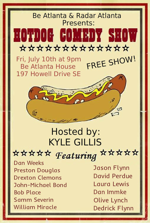 hot dog comedy house show