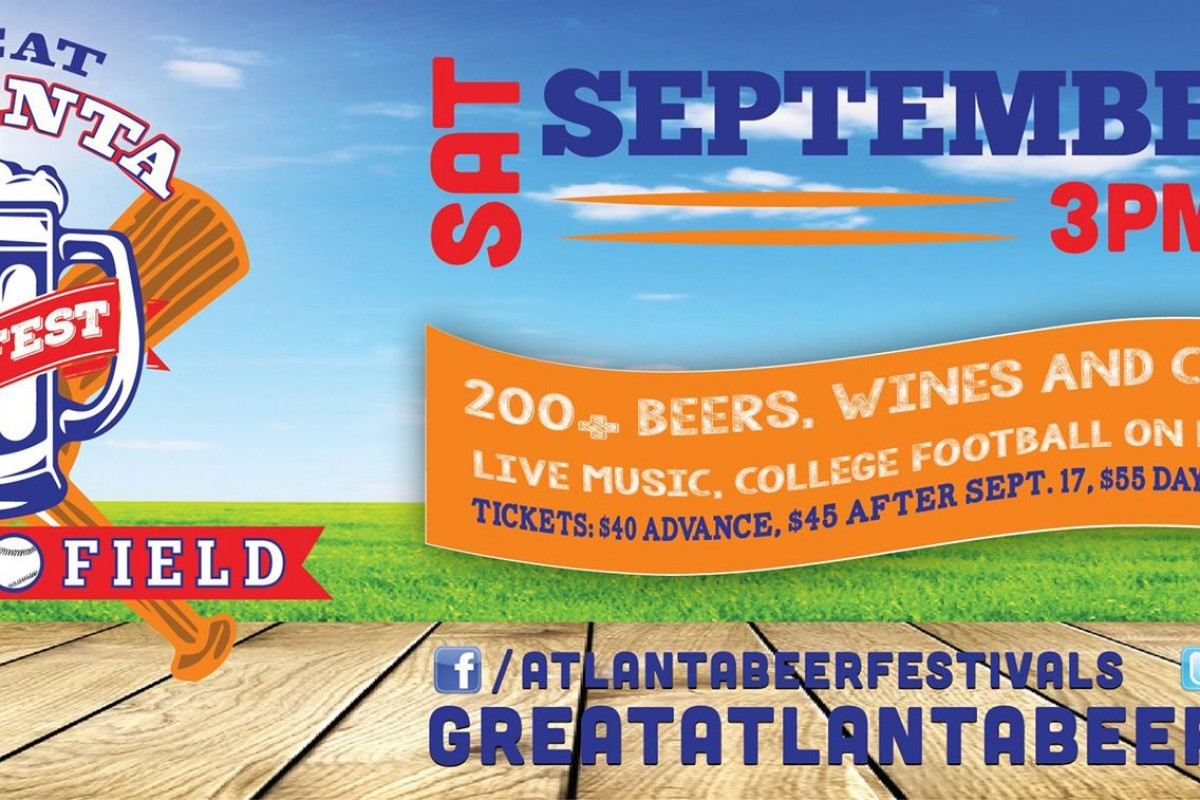 BEER FESTIVAL :: The Great Atlanta Beer Festival 2015 :: Saturday, Sept 26th 2015 :: #beerAtlanta