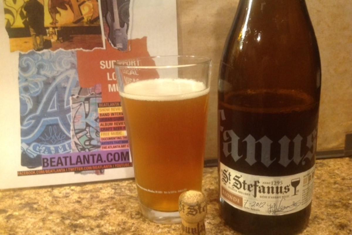 BEER REVIEW :: #beerAtlanta :: St. Stefanus Blonde (Aged Since July 2012)