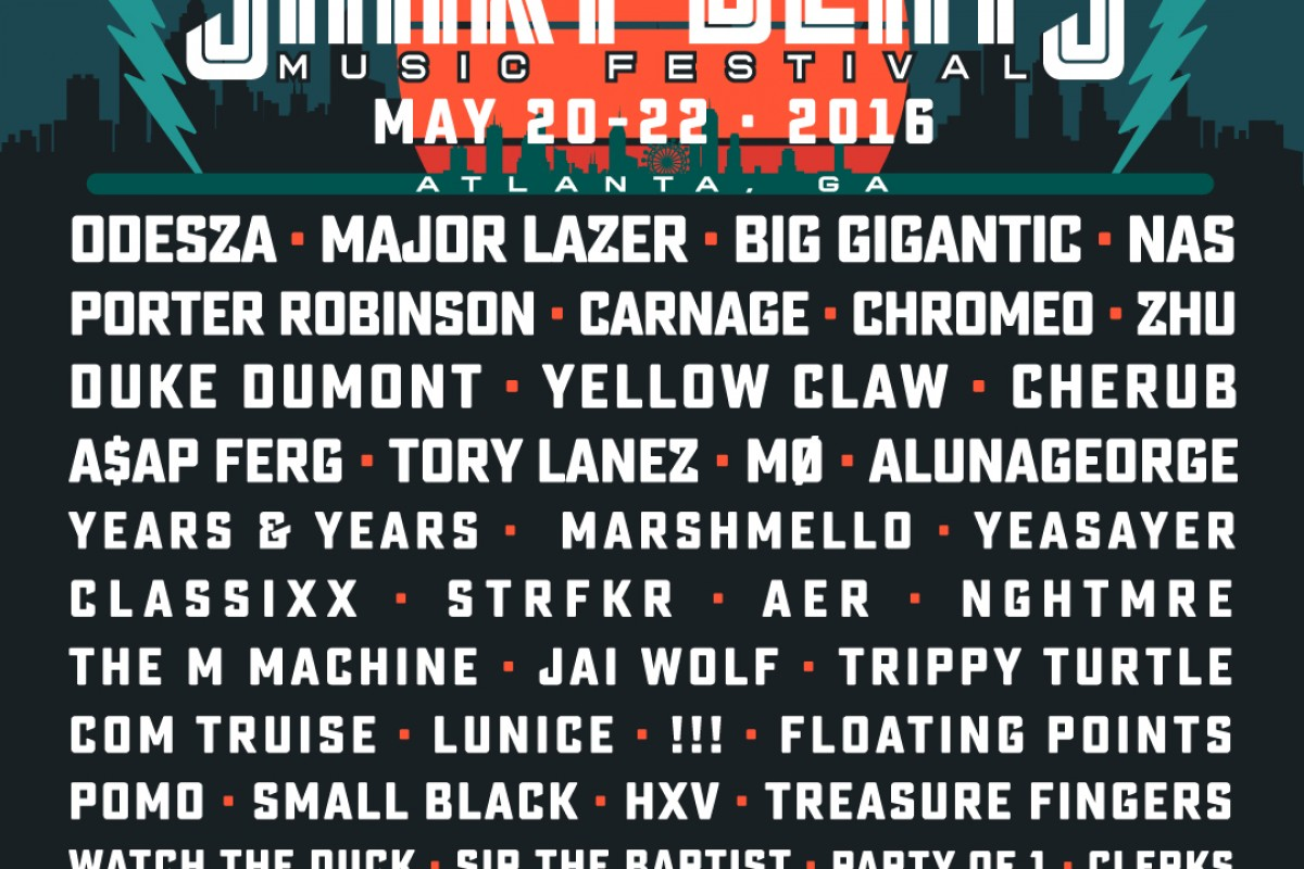 FESTIVAL :: 1st Annual Shaky Beats Festival :: May 20th-22nd at Centennial Olympic Park in Atlanta, GA