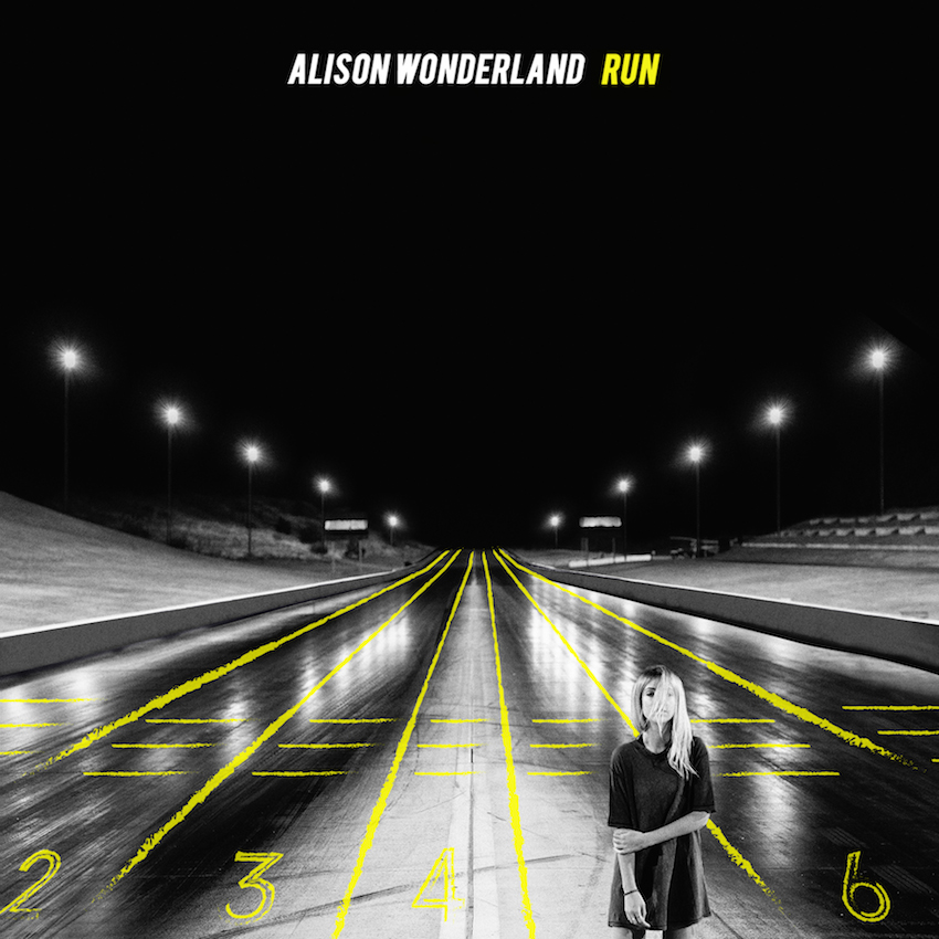 "alison wonderland Run"" cover"