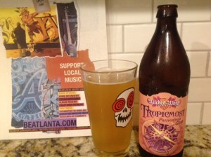 [beer] Tropicmost Passionfruit Gose wicked weed