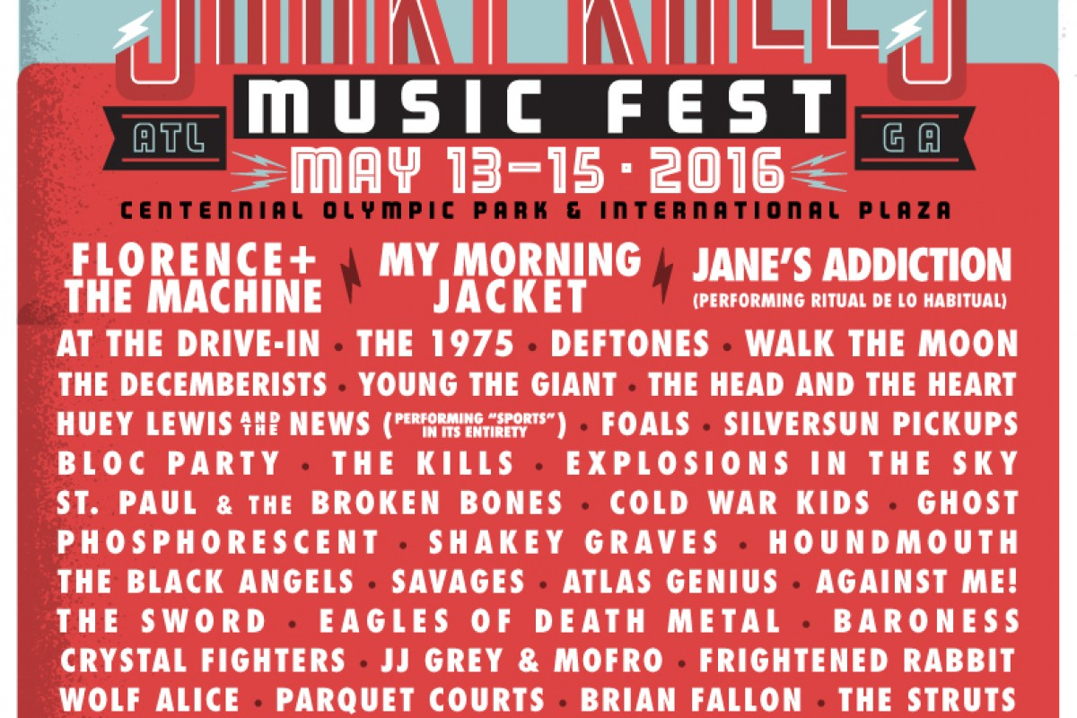 FESTIVAL :: Shaky Knees 2016 – Lineup out Now!