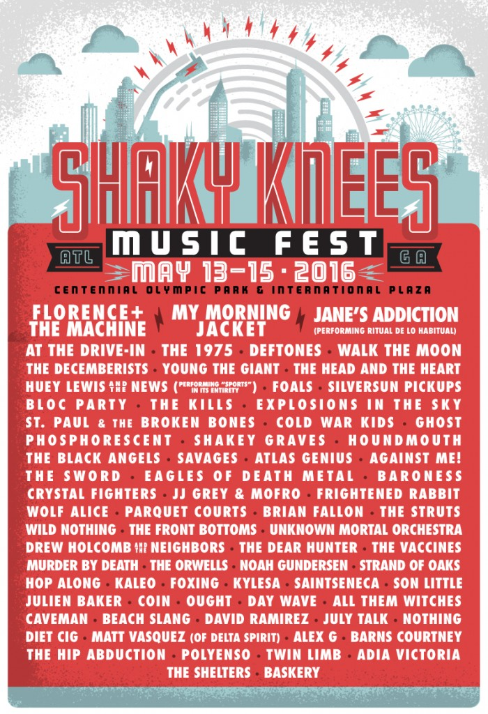 shaky knees 2016
