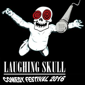 Laughing slull Comedy Fest 2016 Logo (Black)