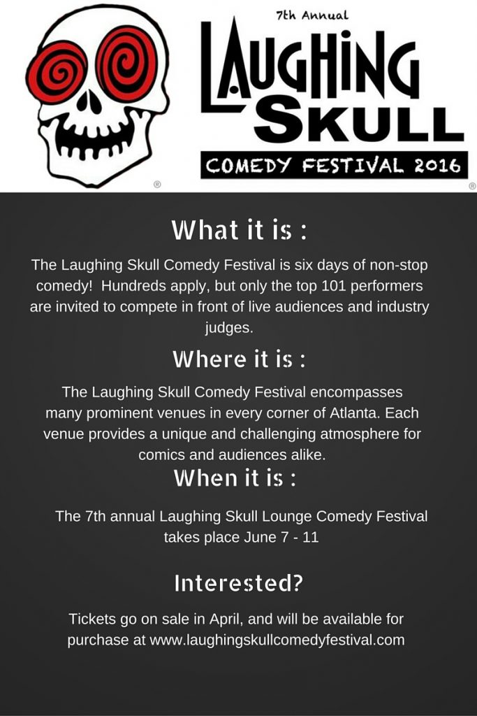 Laughing slull Comedy Festival at a Glance