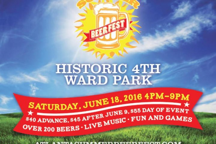 BEER FESTIVAL :: The Atlanta Summer Beer Festival at the Masquerade on Sat 6/18
