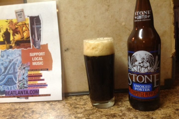 #BeerAtlanta :: Discover Beer :: Stone Smoked Porter w/ Chipotle Peppers