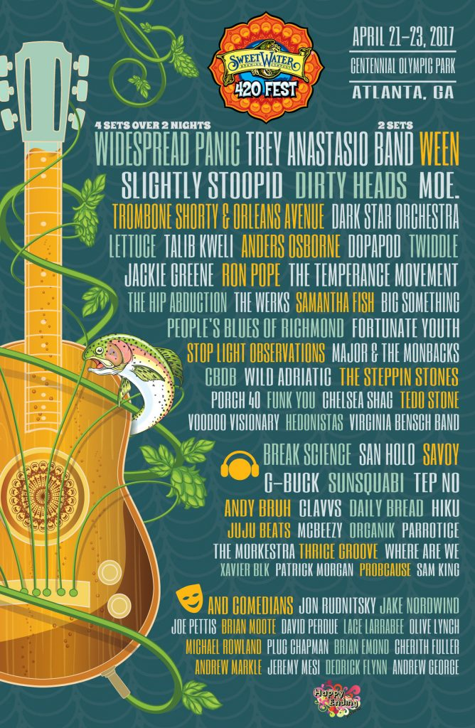 sweetwater 2017 lineup