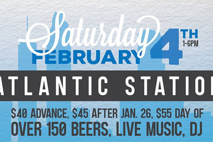 #beerAtlanta :: BEER FESTIVAL :: The Atlanta Winter Beer Fest at Atlantic Station on Sat 2/4/17