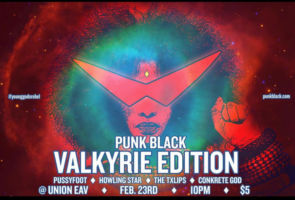 punk black 2.23.17