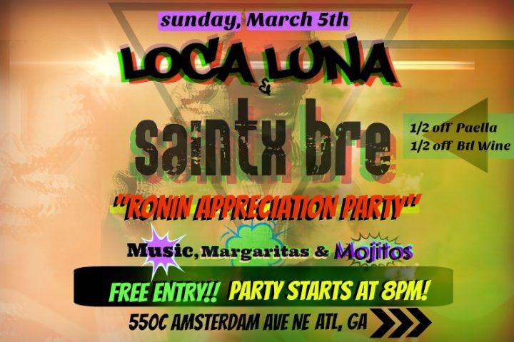ALBUM RELEASE SHOW this Sunday 3/5/17 :: Atlanta rap artist Saintx Bre
