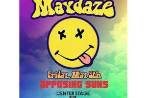 Show Alert :: Opposing Suns at Center Stage Fri 5/5/17
