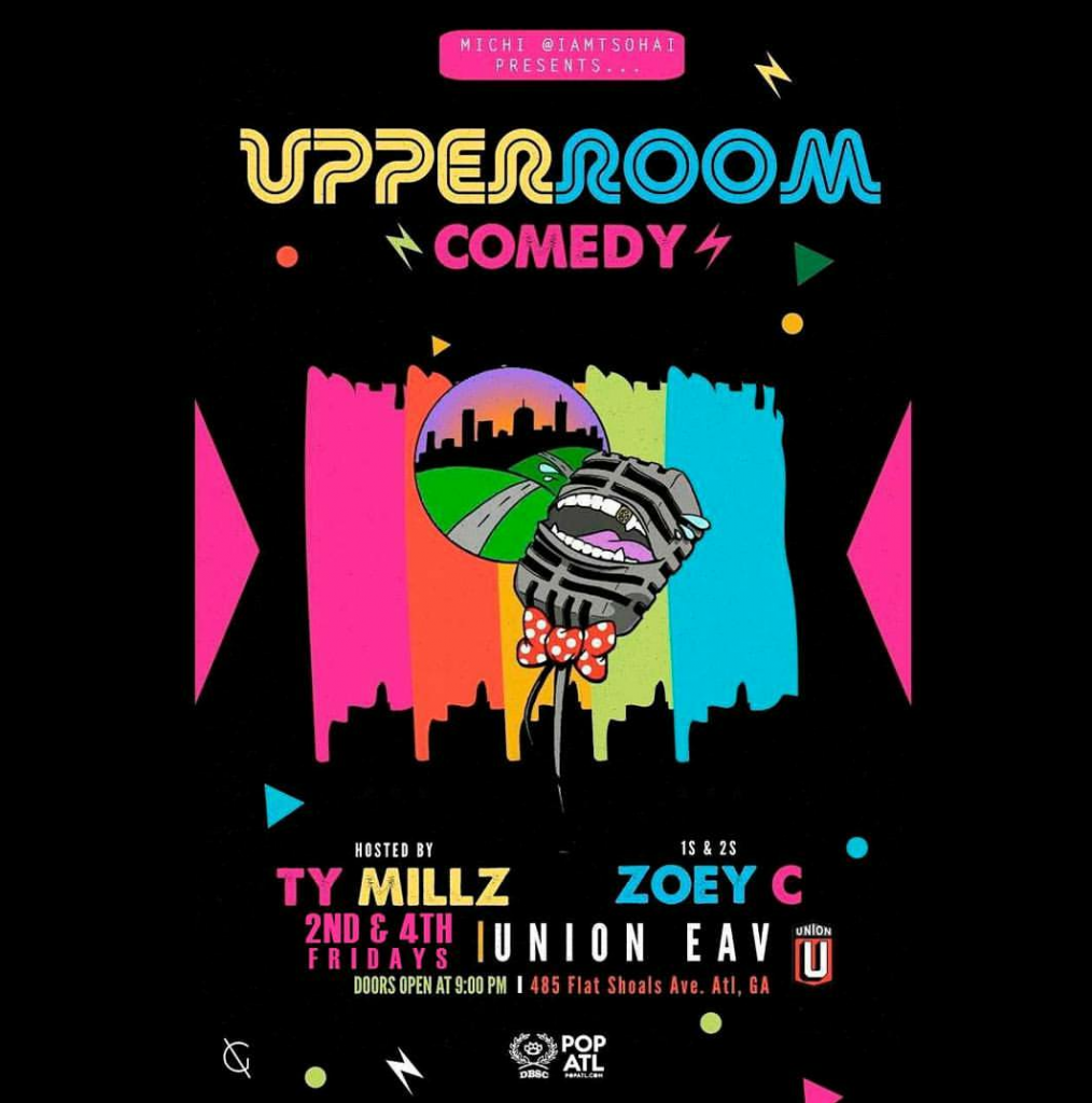 comedy night union eav