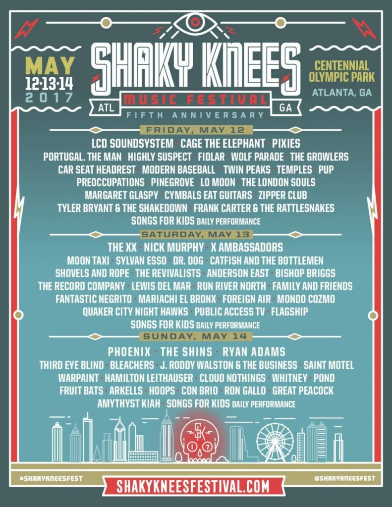 shaky knees days 2017