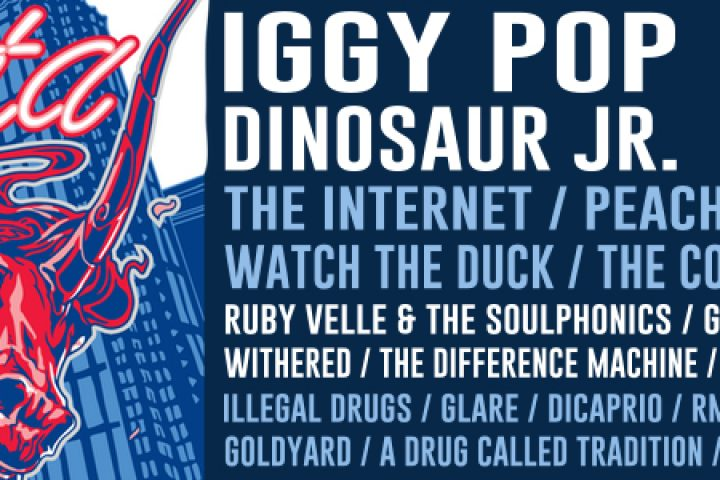 PROJECT PABST :: Back again in EAV on 10.7.17 :: Iggy Pop, Dinosaur JR + more + local acts