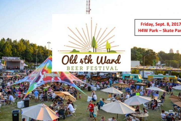 #beerAtlanta :: Beer Festival :: Old 4th Ward Beer Festival :: 9/8/17