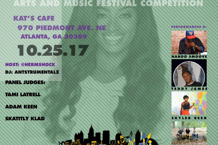 SHOW ALERT :: This Wednesday 10/25 at Kat's Cafe :: Round 1 of the BeAtlanta Music Competition – Good local food and good local music