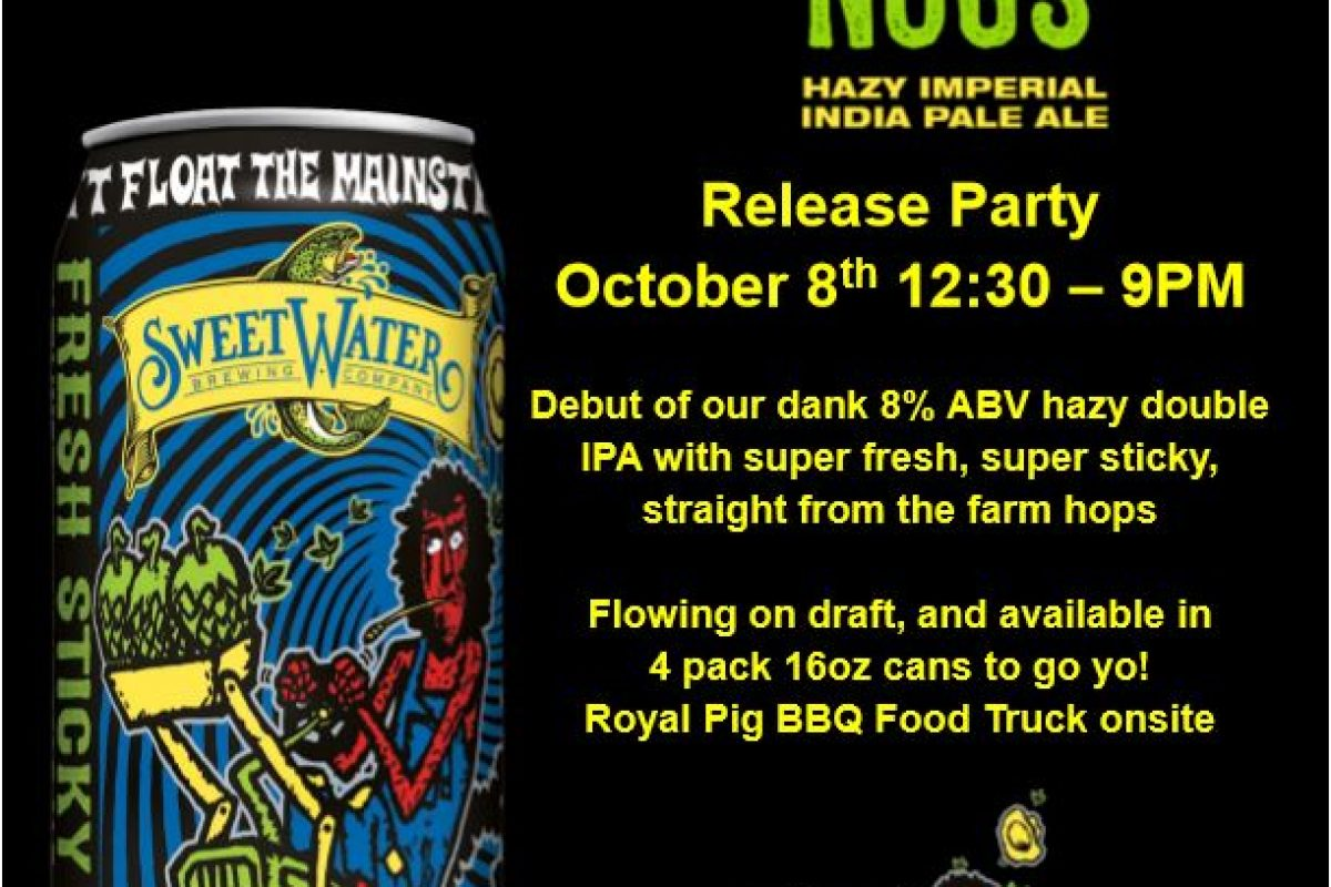 "#beerAtlanta :: Sweetwater announces new Dank Tank series ""Fresh Sticky Nugs"" + info on it's release party"