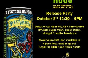 """#beerAtlanta :: Sweetwater announces new Dank Tank series """"Fresh Sticky Nugs"""" + info on it's release party"""