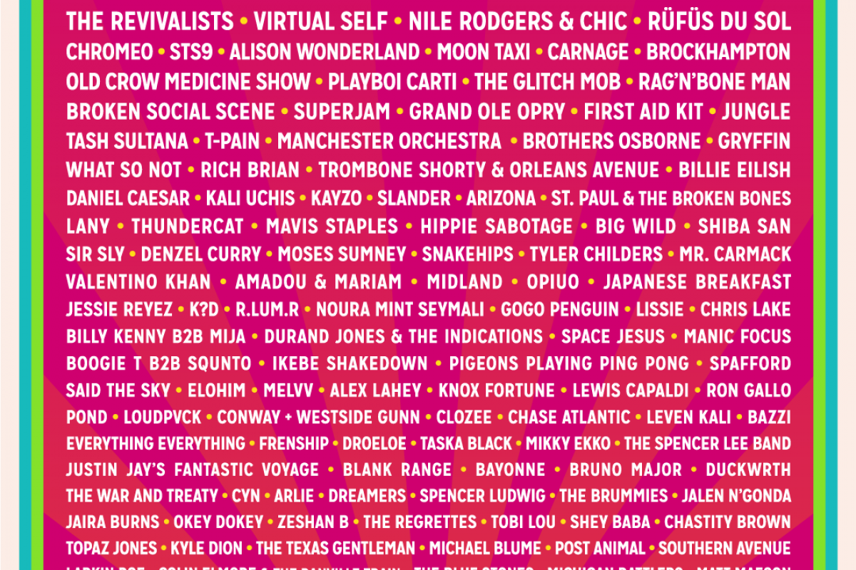 Bonnaroo 2018 Lineup Out Now! Eminem, Muse, The Killers, Bon Iver and more…