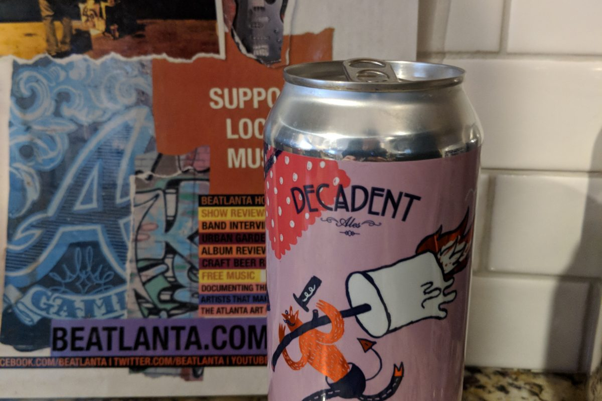 #beerAtlanta :: Beer Review :: S'mores IPA from Decadent Ales