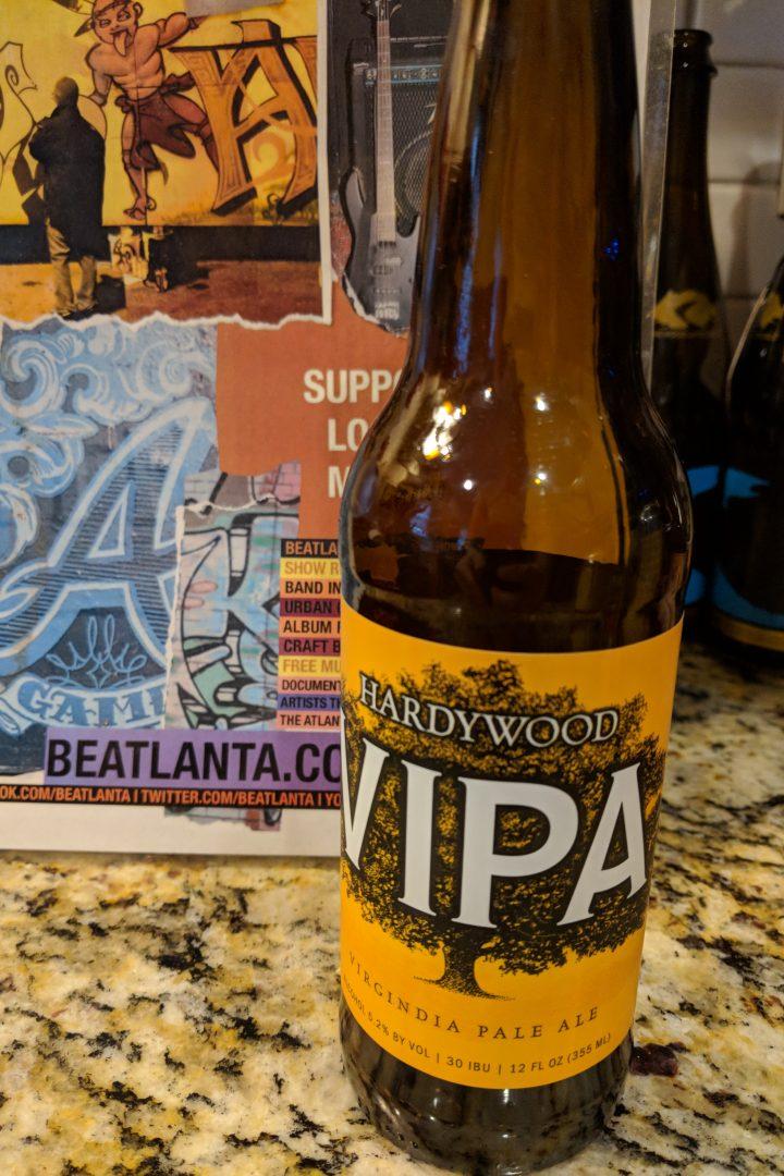 """#beerAtlanta :: newly released in Georgia – """"VIPA"""" from Virginia's Hardywood Brewery"""