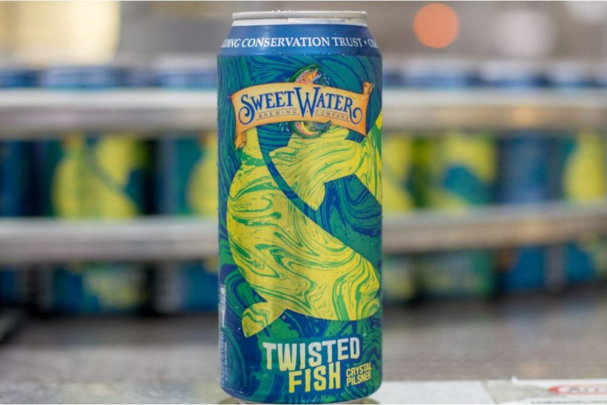 #beerAtlanta + Charity :: new beer from Sweetwater Brewery :: Twisted Fish Pilsner