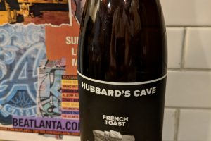 #beerAtlanta :: Hubbard's Cave Brewery – French Toast