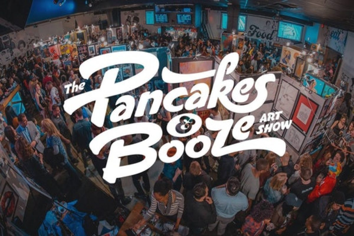 PHOTO & VIDEO GALLERY:: Pancakes & Booze Art Show