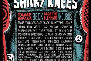 Shaky Knees 2019 :: May 3-5 :: Tame Impala, Cage the Elephant, Beck, Incubus, Dashboard Confessional + many more