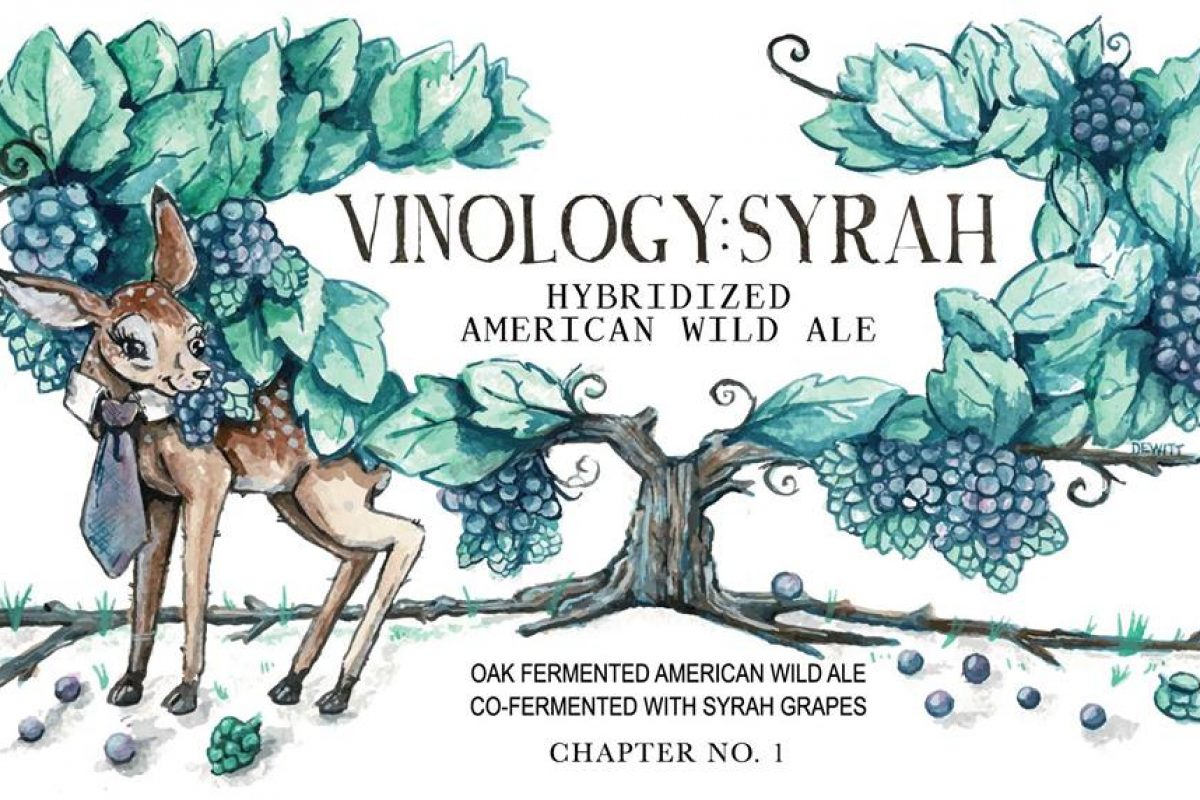 #beerAtlanta :: New Beer from Monday Night Garage :: 'Vinology : Syrah' + Bottle Release Party