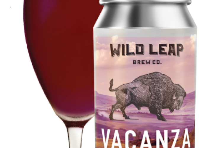 #beerAtlanta – new beer from Wild Leap Brewing Co. – Vacanza Raspberry Gose