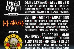 NEW FESTIVAL AT THE BONNAROO GROUNDS :: Exit 111 Festival in October with Mastadon, Slayer, Lynard Skynard, Guns N Roses, Deftones and many more!