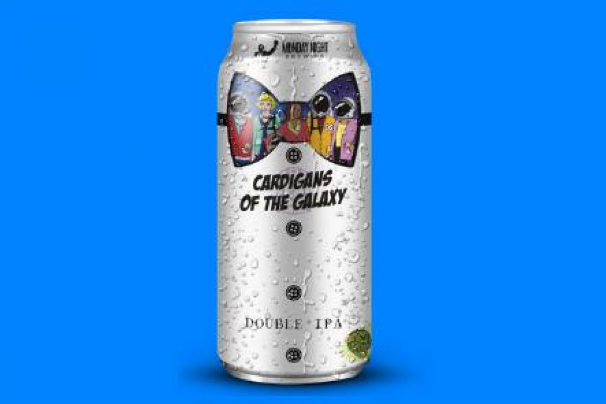 #beerAtlanta :: another beer from Monday Night Garage – Cardigans of the Galaxy Double IPA