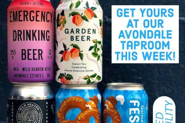 #beerAtlanta :: 4 new beers from Wild Heaven