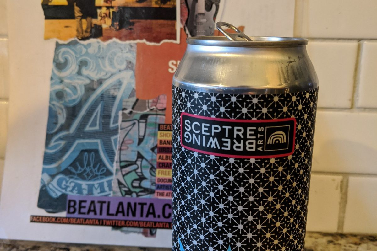 #beerAtlanta :: 'Chaos Magician' double dry hopped IPA from Sceptre Brewing Arts in Decatur, GA