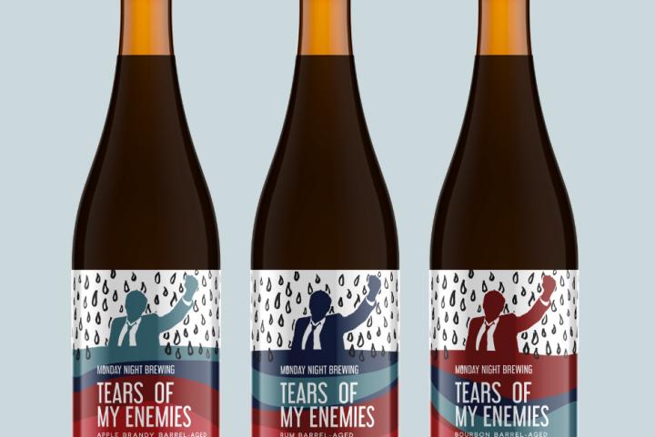 #beerAtlanta :: new beers from Monday Night Garage – Tears of my Enemies is back w/ 4 variations