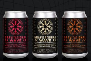 #beerAtlanta – Gravitational Wave from Wildheaven Brewery is back, in 3 tasty variations!