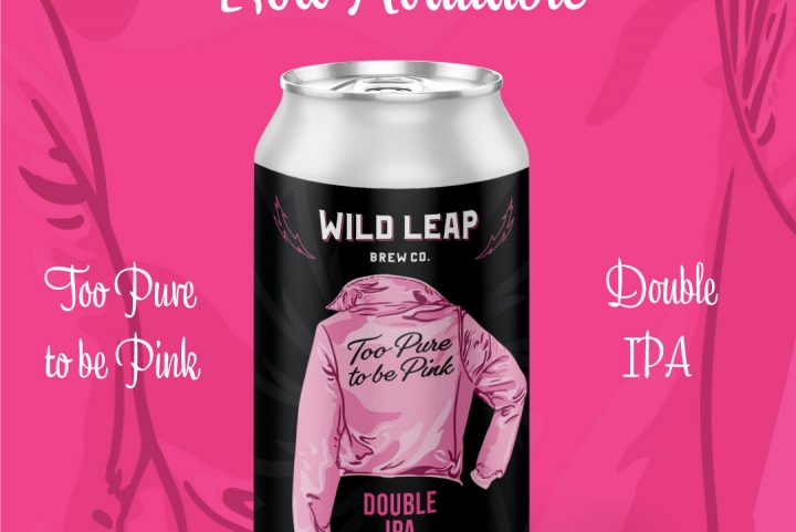 """#beerAtlanta :: """"Too Pure To Be Pink"""" Double IPA from Wildleap Brewery :: celebrating National Women's Day 2020"""